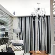 后现代风格精致客厅隔断装饰