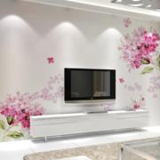 跃层简约风格清新客厅墙饰装饰