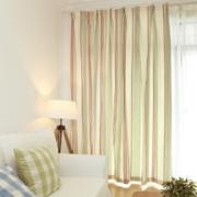 复式楼简约风格客厅条形飘窗装饰