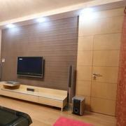 现代简约硅藻泥电视背景墙装饰