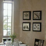室内餐厅瓷砖新古典款