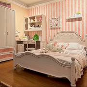 外观精美的实木床