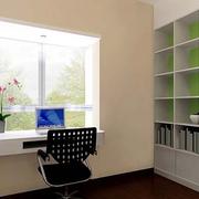 现代简约风格书房书柜装饰