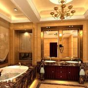 三室两厅美式的洗手间