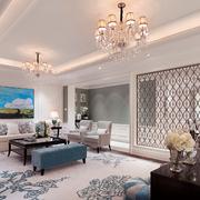 别墅欧式风格客厅沙发设计