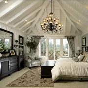 阁楼卧室吊顶展示