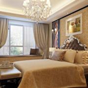 欧式风格奢华卧室电视背景墙装饰