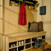 北欧风格清新进门鞋柜装饰