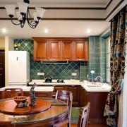 欧式简约风格厨房飘窗装饰