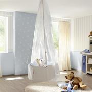 美式简约风格儿童房置物架装饰