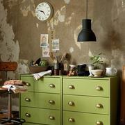 果绿色的柜子装饰效果图