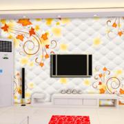 现代简约风格电视墙饰装饰