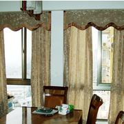 北欧客厅窗帘综合款
