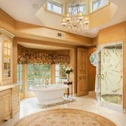 别墅超豪华的卫生间