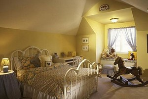别墅阁楼儿童房装修效果图