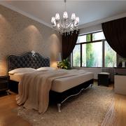 欧式风格简约卧室飘窗装饰