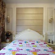 公寓简约风格卧室墙饰设计