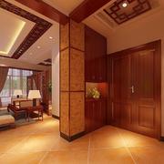 现代客厅玄关设计