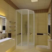 三室两厅小型洗手间