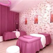 美容院设计烂漫墙纸