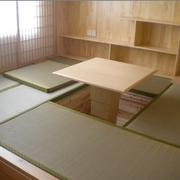 日式经典风格原木榻榻米装饰