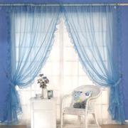 韩式清新风格窗户窗帘装饰