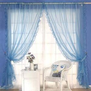 地中海风格窗帘装修效果图