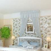 韩式田园风格卧室床头墙饰装饰