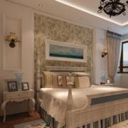 欧式田园印花卧室墙饰装饰