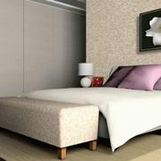 后现代风格卧室简约墙衣装饰