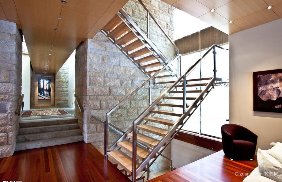 2015时尚美观阁楼复式楼楼梯效果图