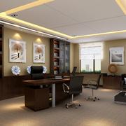 新中式气质办公室