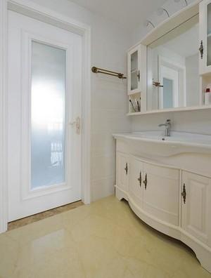 欧式风格奢华卫生间浴室柜装饰