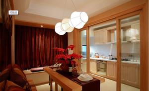厨房隔断装修设计效果图大全