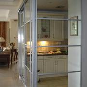 美式简约风格厨房隔断装饰