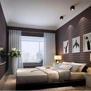 现代简约风格卧室吊顶装饰