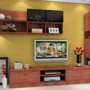 简约风格清新电视柜装饰