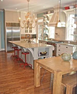 半开式厨房隔断门装修效果图