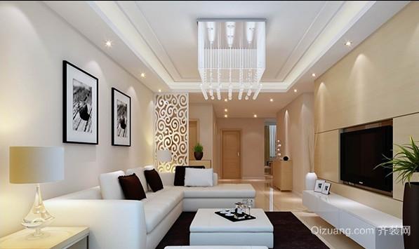 多种风格客厅吊顶装修效果图
