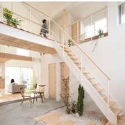 日式复式楼楼梯装饰