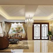 别墅奢华石膏板吊顶装饰
