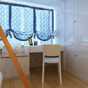 儿童房窗帘造型图