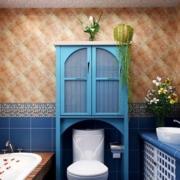 地中海简约卫生间镜饰装饰