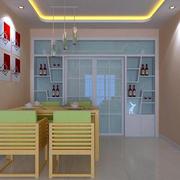 现代简约风格厨房推拉门装饰