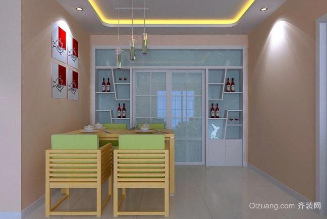 简单实用又享受的厨房设计效果图