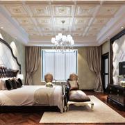 欧式奢华卧室集成吊顶装饰