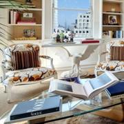 欧式风格奢华书柜装饰