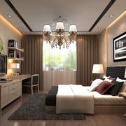 复式楼客厅后现代风格吊顶装饰