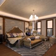 欧式奢华风格卧室壁纸装饰
