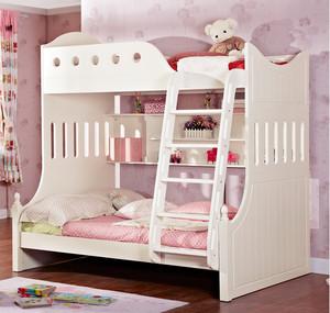 简约白色小清新儿童床